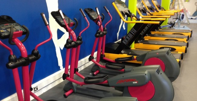 School Exercise Machines in Aire View