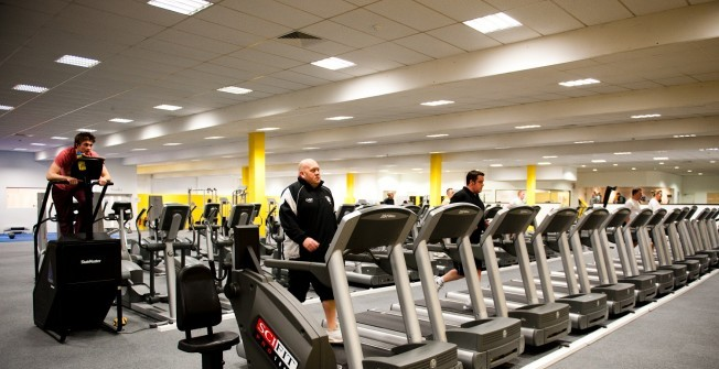 Community Gym Machines in Alrewas