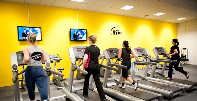 Community Gym Treadmills in Abberton